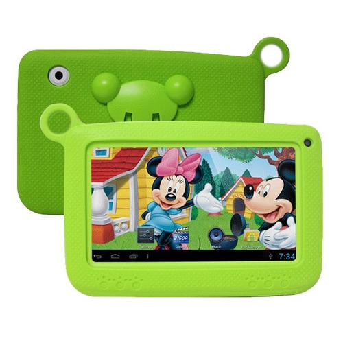 tablet 7 niños kids funda goma control parental contenido ed