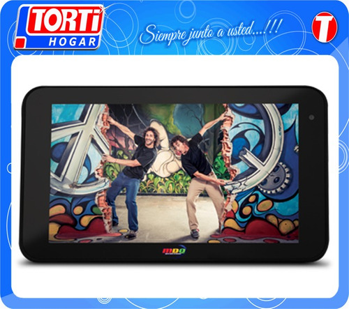 tablet 7 pcbox anfibia pcb-t760 roja