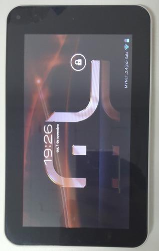 tablet 7 pol m7s preto multilaser p/ peças lento funciona