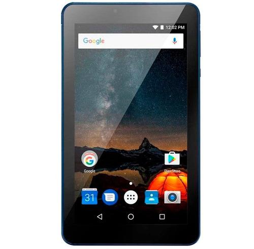 tablet 7 polegadas original nfe 274 azul quad core andoid 7
