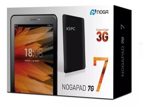 tablet 7 pulgadas celular chip sim 3g noga 7g nogapad wifi