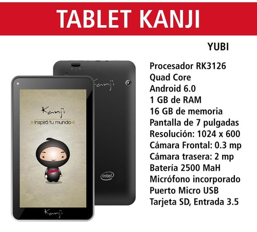 tablet 7 pulgadas gamer android 6 led 16gb 1gb ram + funda