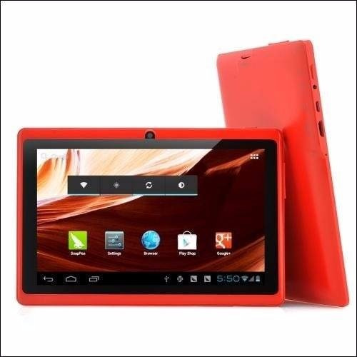 tablet 7 quadcore a33 4gb android 4.4 wifi bluetooth nueva