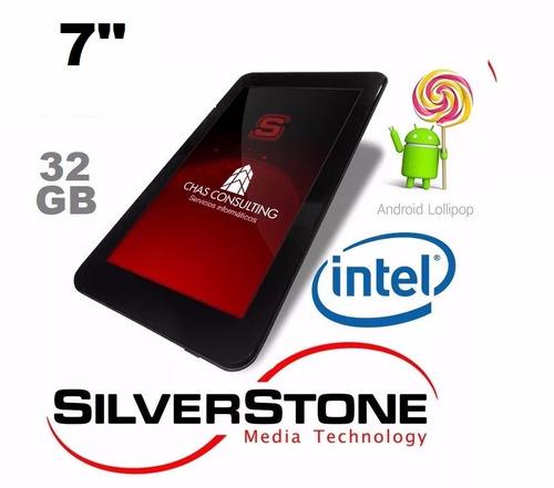 tablet 7 silverstone 32gb intel st800 mini hdmi android 5.1