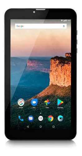 tablet 9   3g quad core 1gb/8gb android 7.0 negra multilaser