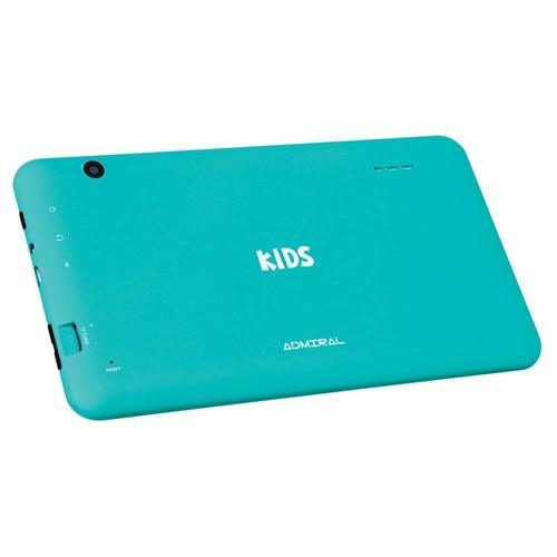 tablet admiral kids niños quad core hd 8gb refabricado