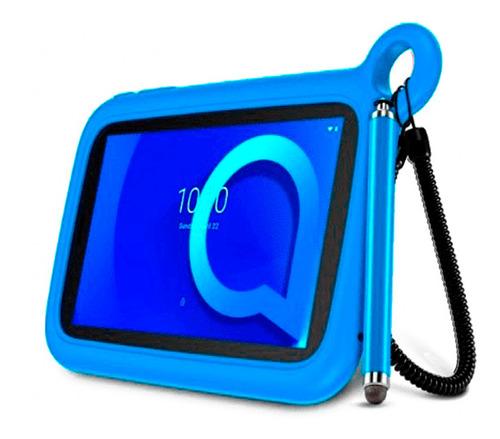 tablet alcatel para niño 1t 7 8gb android wifi con funda amv