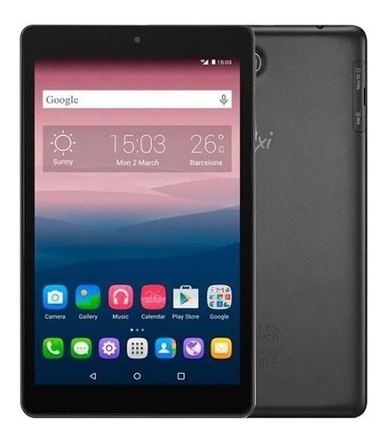 tablet alcatel pixi 3 3g quadcore, 8gb, 1gb, 8