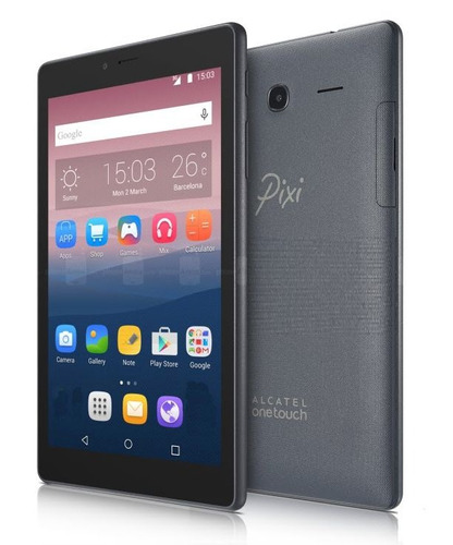 tablet alcatel pixi 4 8gb 7'' quadcore 1.3 android 6.0 wifi