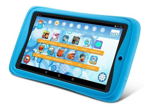 tablet alcatel pixi kid 8067 8gb rom 1gb ram azul o rosa pcm
