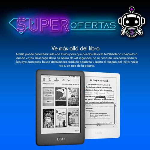 tablet amazon all new kindle pantalla 6  + n u e v a s !!!