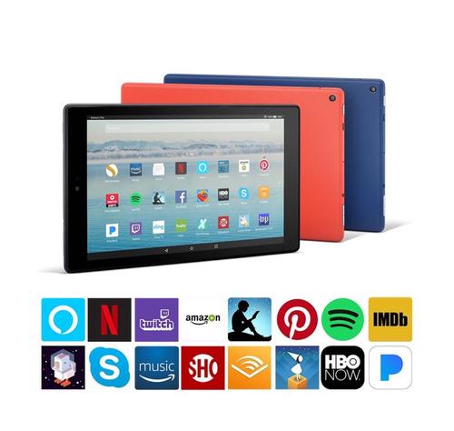 tablet amazon fire 32gb nueva caja cerrada eeuu - original