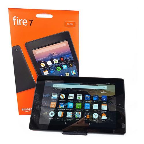 tablet amazon fire 7 8gb 7 pulg + cargador y garantía nueva