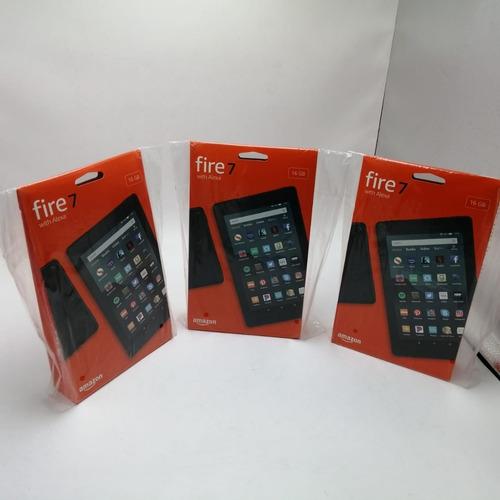 tablet amazon fire hd 7 pantalla 7 pulgadas ram 1 gb  almace