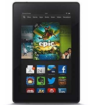 tablet amazon fire hd 7 pantalla 7 pulgadas ram 1 gb  almace