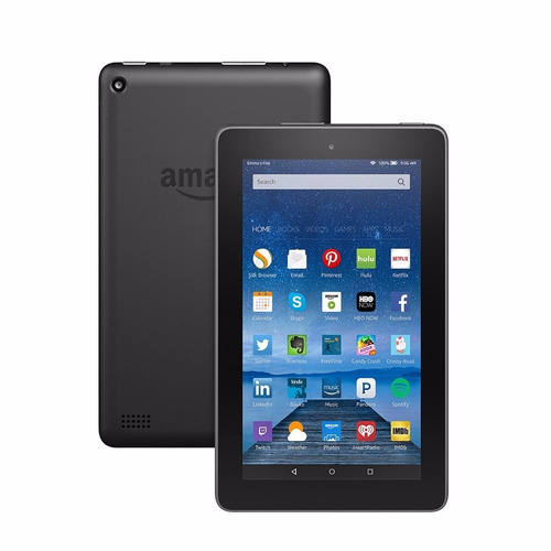 tablet amazon fire quad core 8gb wifi 7  1024x600 micro sd