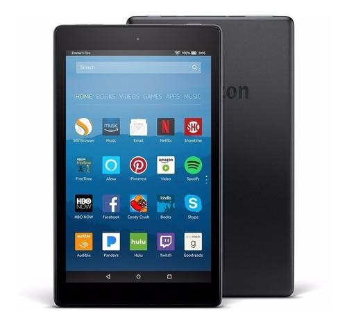 tablet amazon kindle fire hd 8 16gb - de r$999 por r$599