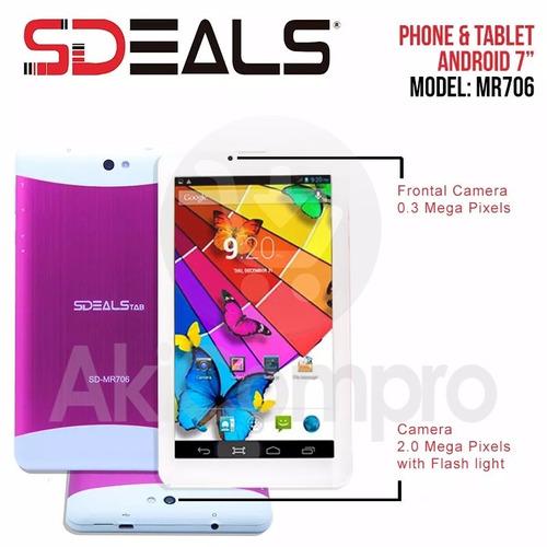 tablet android 7'' teléfono sdeals repotenciado clase a