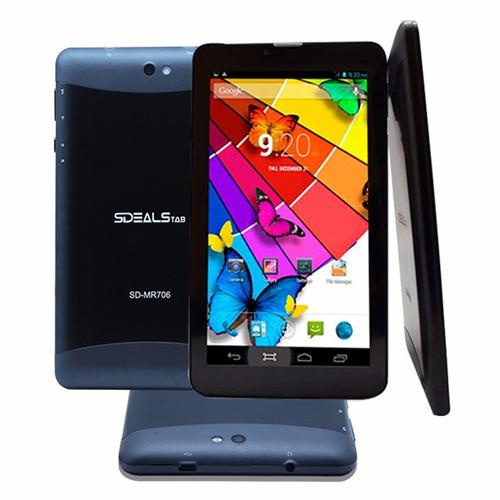 tablet android 7'' teléfono sdeals repotenciado clase b