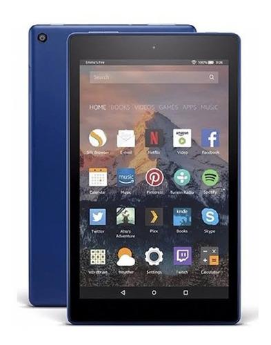 tablet android amazon fire hd8 16gb 8 geração envio imediato