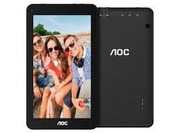 tablet aoc a722 - 7  - 8gb - negra