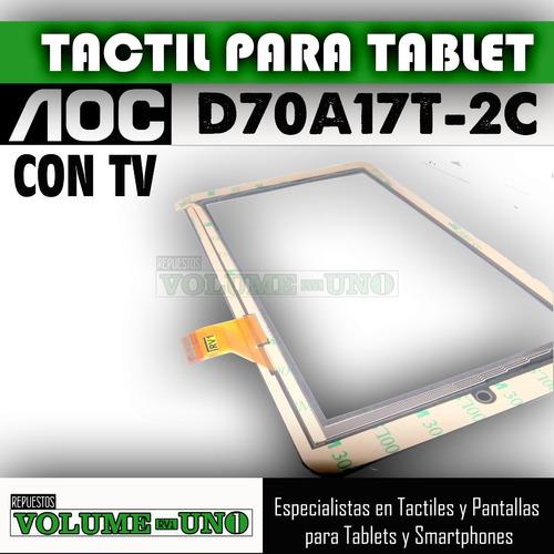 tablet aoc para