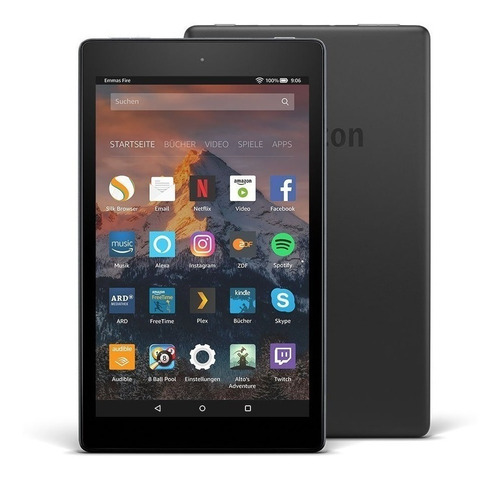 tablet barato android amazon fire hd8 16g tela de 8 c/alex
