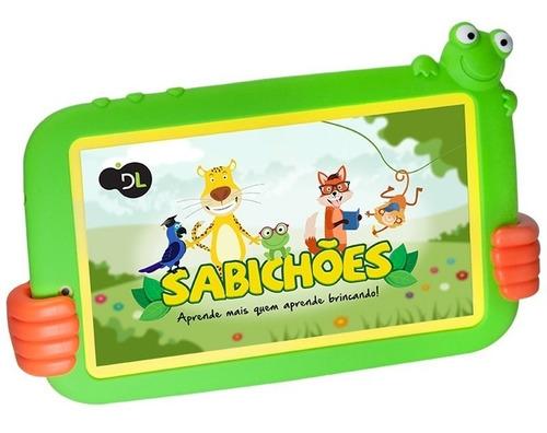 tablet barato dl sabichões tx386bvd 7' 8gb wifi vitrine nf
