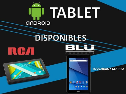 tablet blu rca android 110 trump