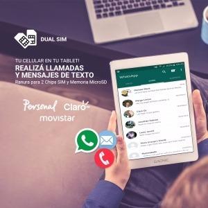 tablet celular 4g dual sim 7 pulgadas gadnic quadcore 16 gb