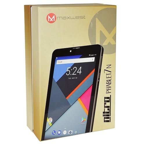 tablet celular maxwest nitro phablet7n 1gb 8gb 7  dual-sim
