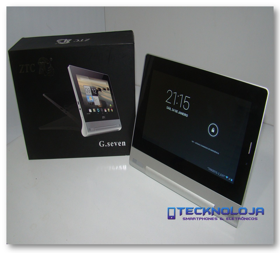 tablet celular smartphone quad core android ztc g seven 3d. Black Bedroom Furniture Sets. Home Design Ideas