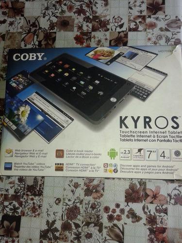 tablet coby kyros 7  venta- permuta