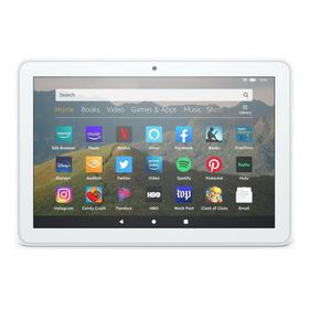 Tablet Com Capa Amazon Fire Hd 8 2020 8  32gb White Com Memória Ram 2gb