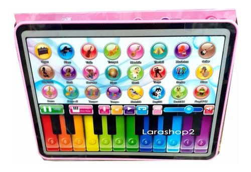 tablet computadora juguete niños niños didactica princesas