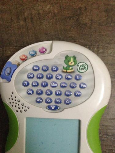 tablet de aprendizaje en inglés leap frog