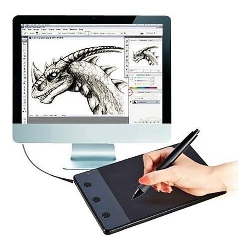 tablet dibujo diseño digital drawin 10 x 6cm area activa