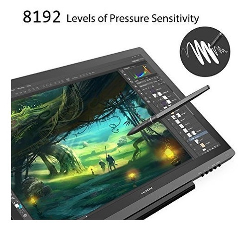 tablet digital graphics dibujo monitor huion kamvas gt-191