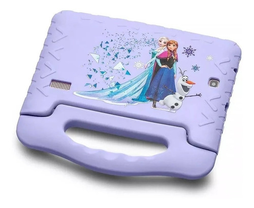 tablet disney frozen plus wi fi tela 7 pol. 16gb quad core + fone ( brinde )