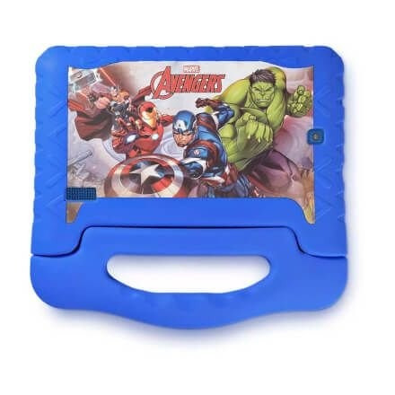 tablet disney vingadores plus wifi 8gb android 7 pol dual câ