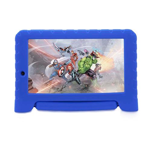 tablet disney vingadores wifi 8gb android dual câmera azul