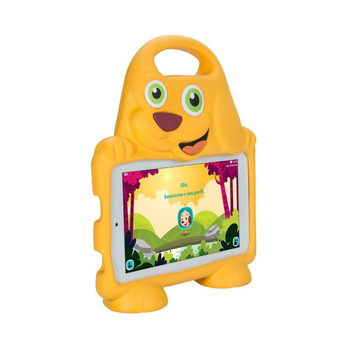 tablet dl drop kids plus 7  tx328br wifi capa de cachorro