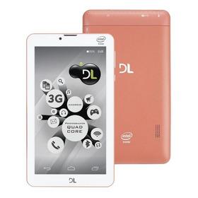 Tablet Dl Tec Phone7, 8gb 3g, Função Smartphone Frete Grátis