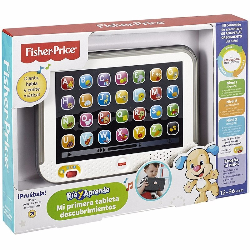 Tablet Educativa Para Niños Nueva Fisher Price Marco Luces - $ 1.919 ...