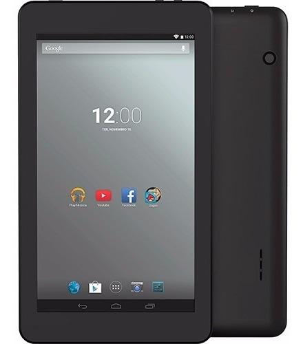 tablet every e701 8gb wi-fi tela 7'' android 4.4 quad-core