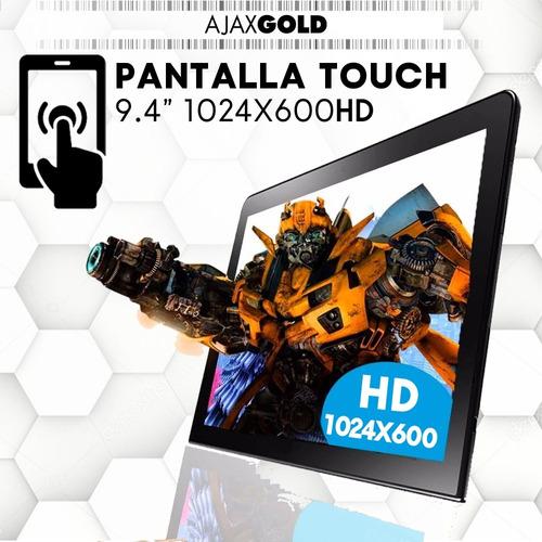 tablet gadnic android 9 pulgadas hdmi funda teclado 4g