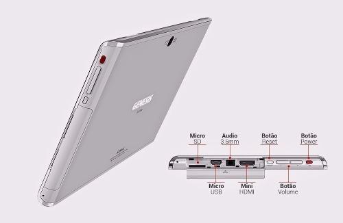 Tablet Genesis Android Tab Gt- 7304 Cor Branca Wifi | 8gb