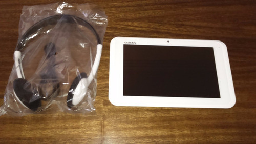tablet genesis gt 7240 ( 7 polegadas)+ brinde fone de ouvido