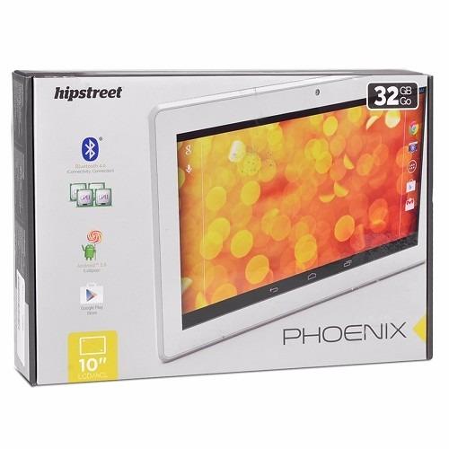 tablet hipstreet 10.1  quad -core memoria 32gb, puerto hdmi