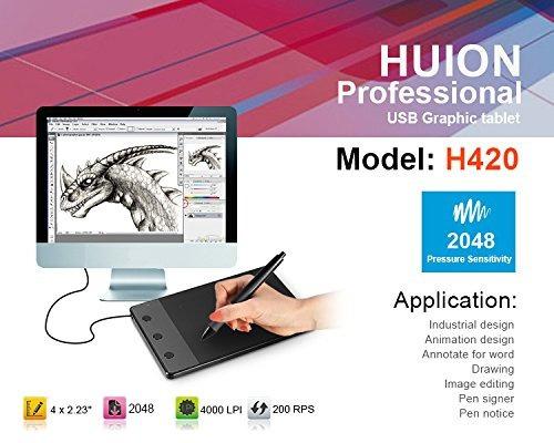tablet huion digital accesorios